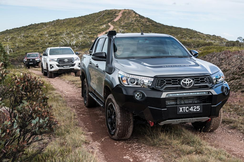 Toyota Hilux Rugged X 2018 Review Www Carsales Com Au