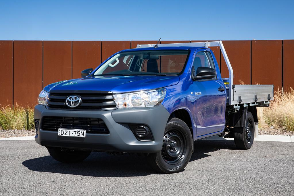 Toyota HiLux Workmate 2019 Review - www carsales com au