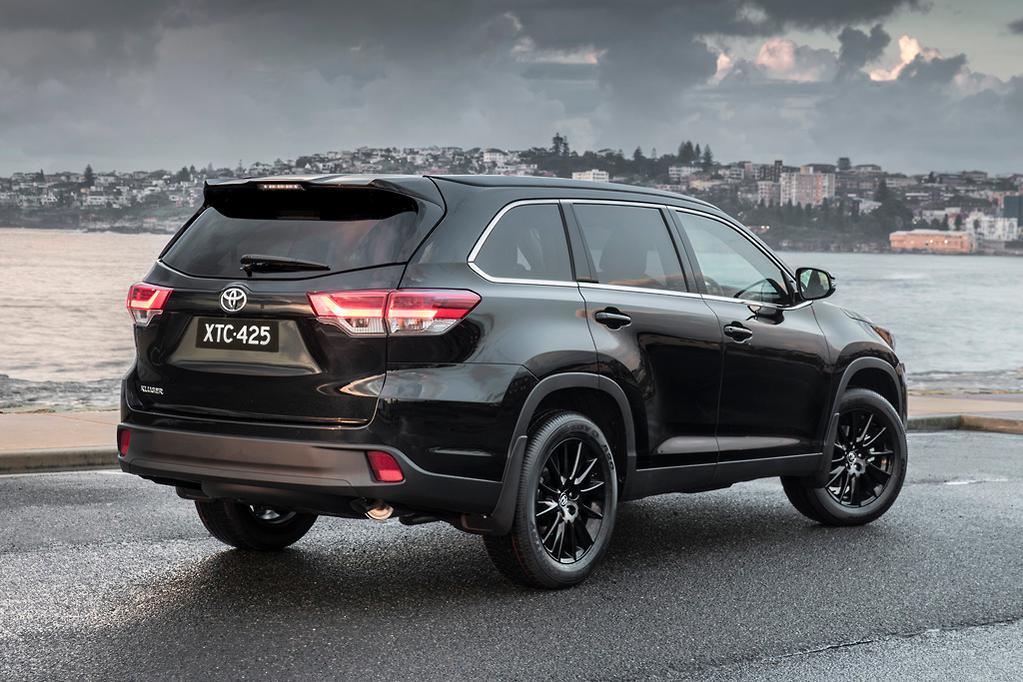 2019 Toyota Kluger Black Edition Revealed Www Carsales Com Au