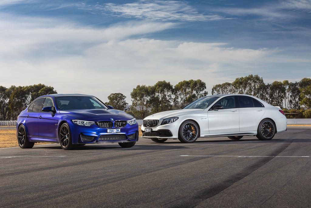 Bmw M3 Cs V Mercedes Amg C 63 S 2019 Comparison Www