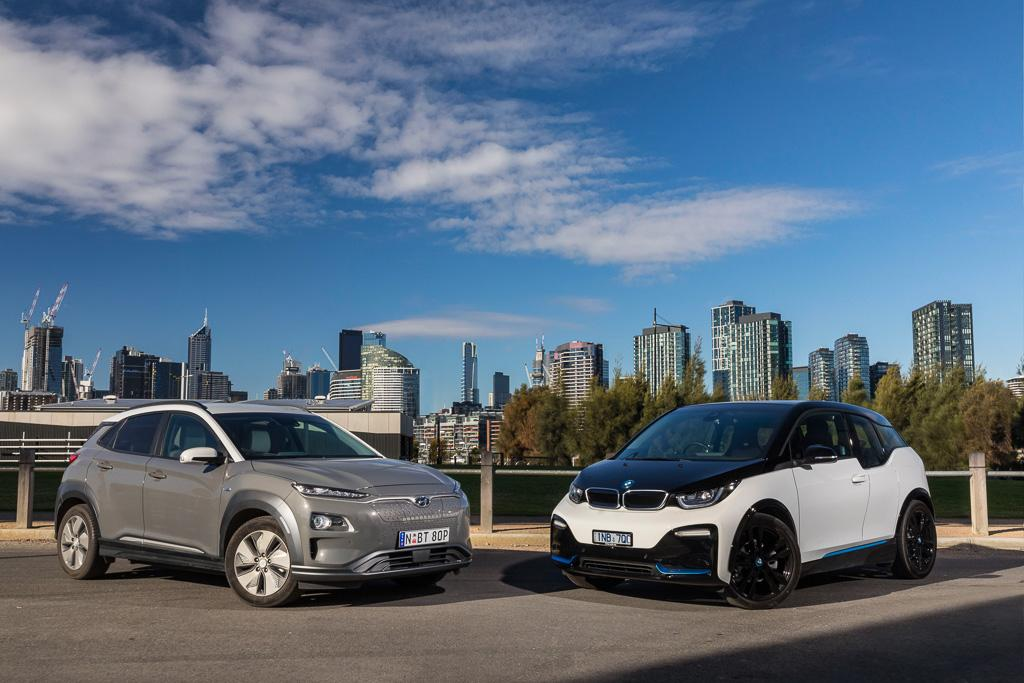 Bmw I3 V Hyundai Kona Electric 2019 Comparison Www Carsales Com Au
