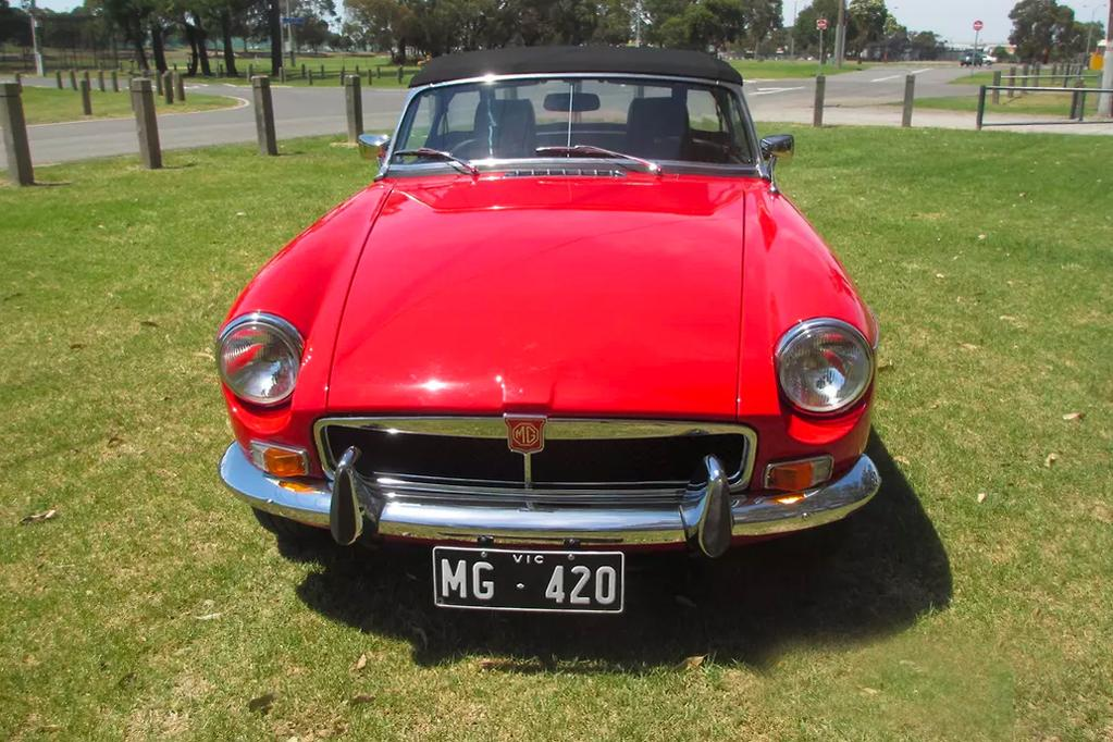 From The Classifieds: 1972 MGB convertible - www carsales com au