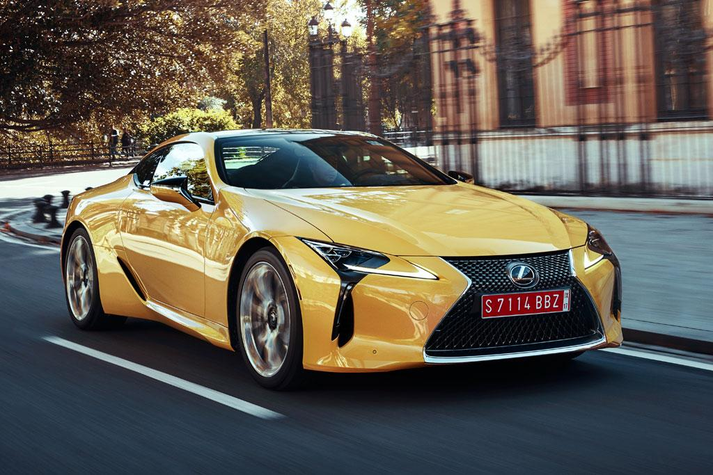 Lexus Lc 500 2017 Review