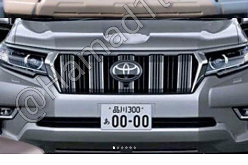 2018 Toyota Land Cruiser Prado: Facelift, Changes, Price >> 2018 Toyota Landcruiser Prado Facelift Leaked Www Carsales Com Au