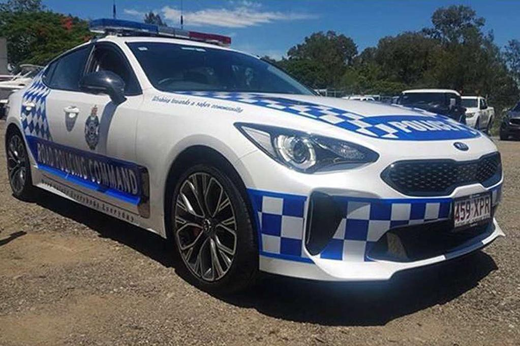 Kia Motors Australia Chief Operating Officer Damien Meredith Told Motoring Au That Stinger Pursuit Vehicles Are Most Likely To Be Seen In Queensland