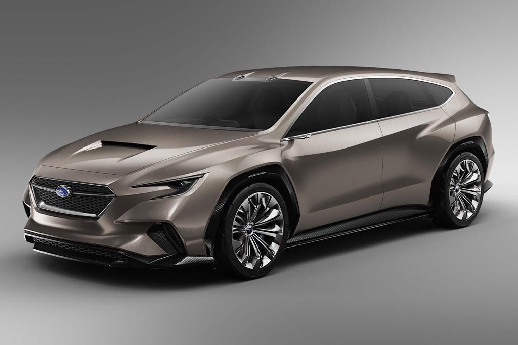 Geneva Motor Show Subaru Wrx Wagon Previewed
