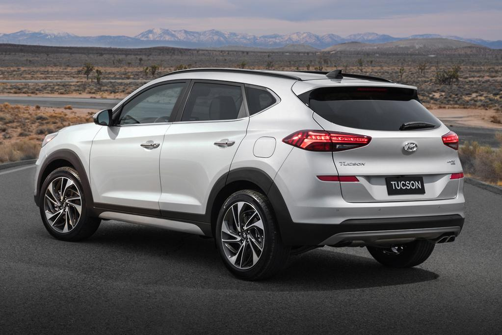 NEW YORK MOTOR SHOW: Hyundai shows off facelifted Tucson - www