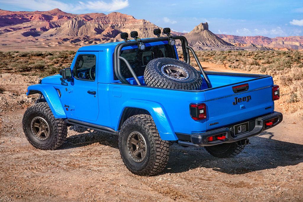 Jeep Moab Ute Concepts Unveiled Www Carsales Com Au