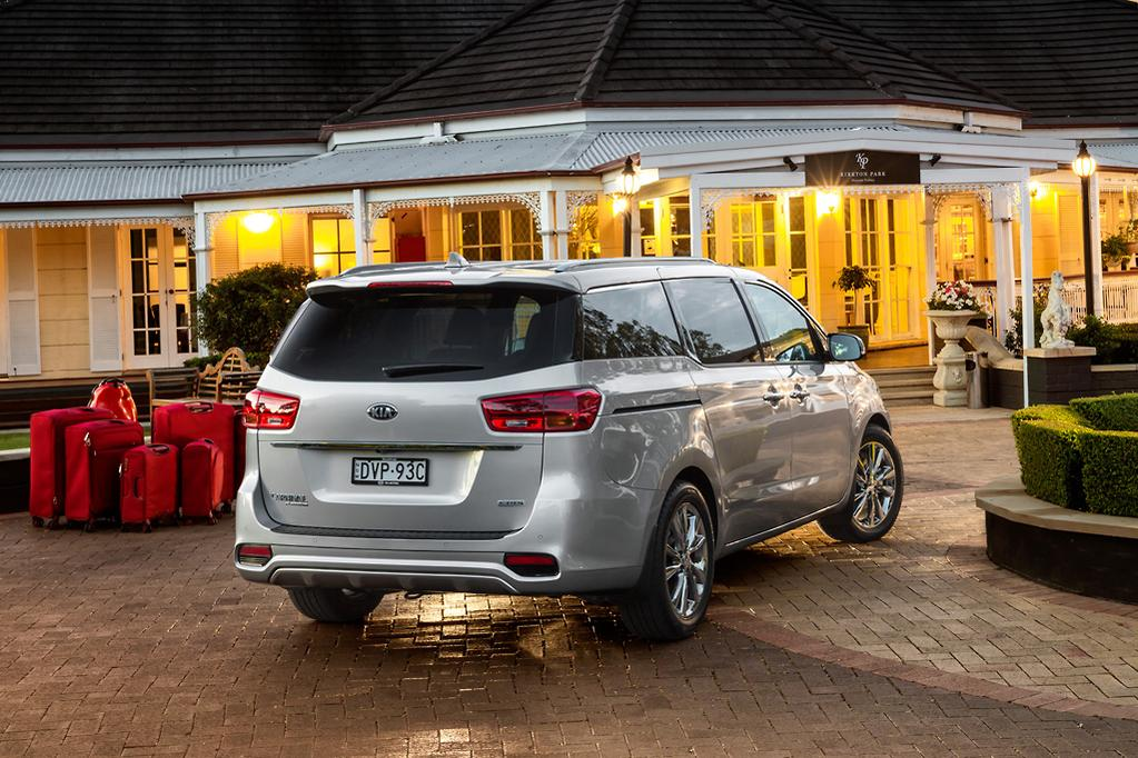 More safety, fresh look for Kia Carnival - www.carsales.com.au