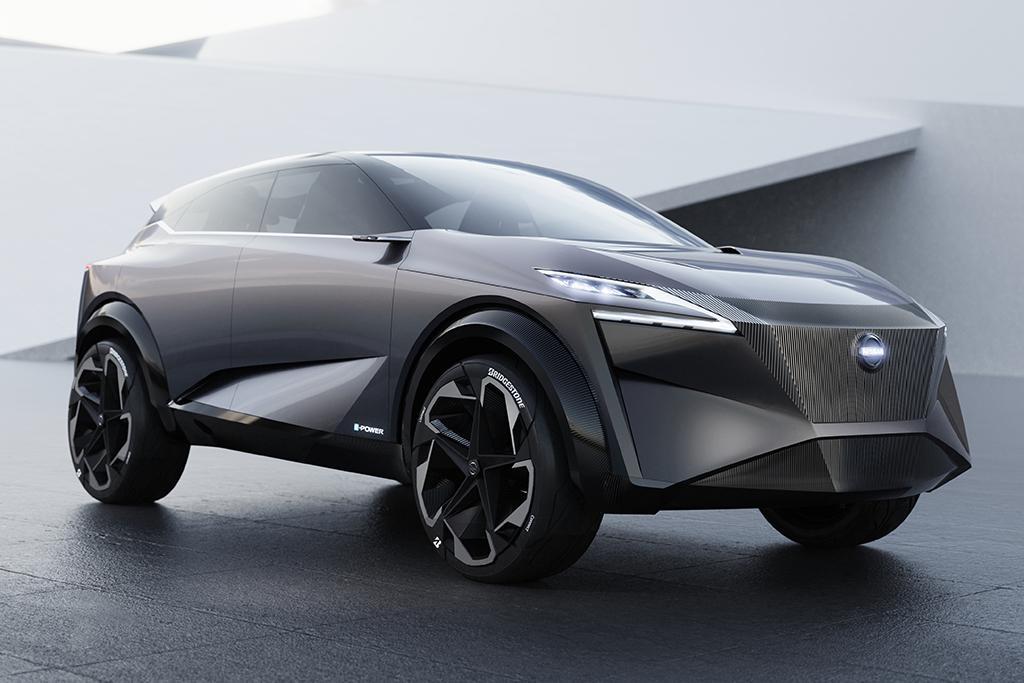 Geneva Motor Show Nissan Launches Imq Hybrid Electric Crossover Www Cars Au