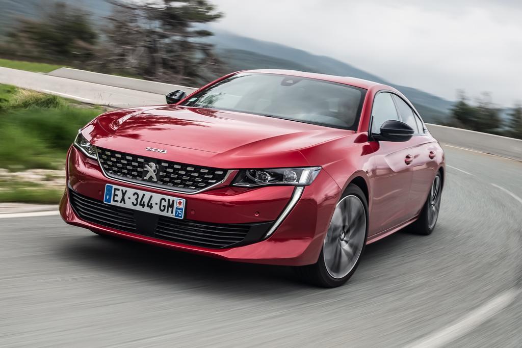Peugeot 508 Fastback 2019 Review -- International - www