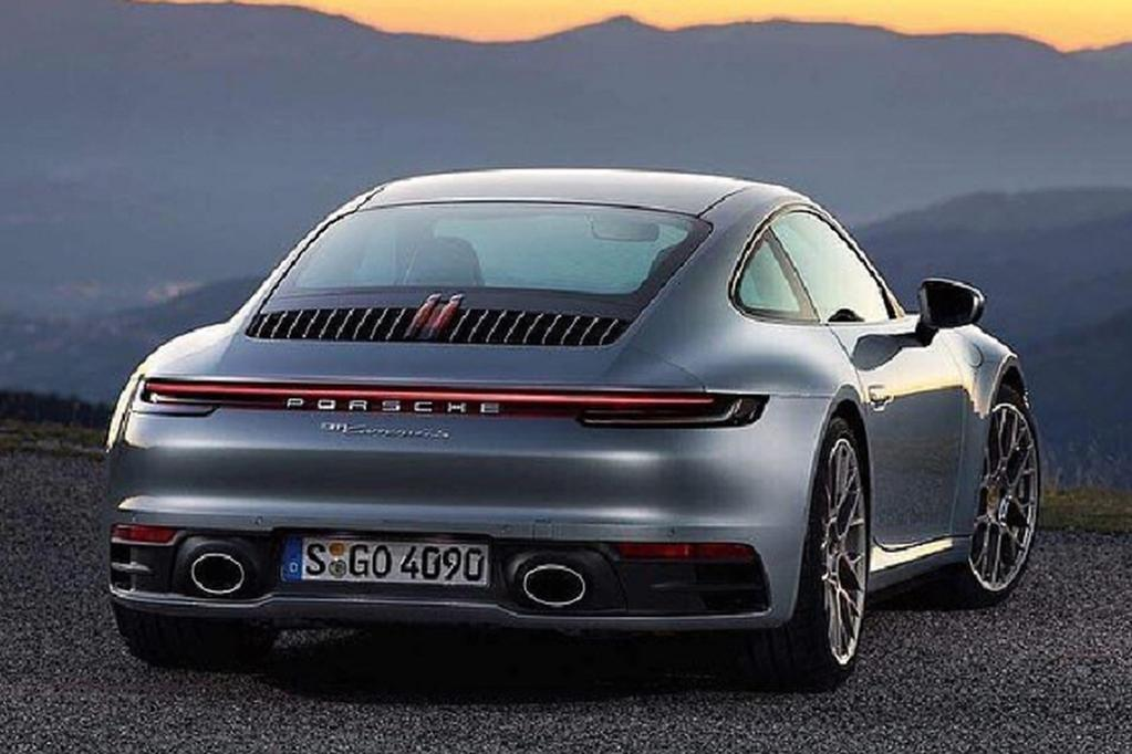 The Reason For This To Highlight New Transmission It Adds 20kg But Extra Use Of Aluminium Throughout 911 Body And Chis Will Ensure That Weight