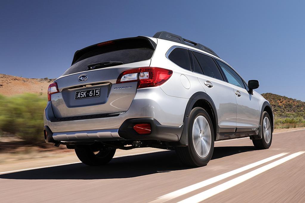 Holden Calais Tourer v Subaru Outback 2019 Comparison - www