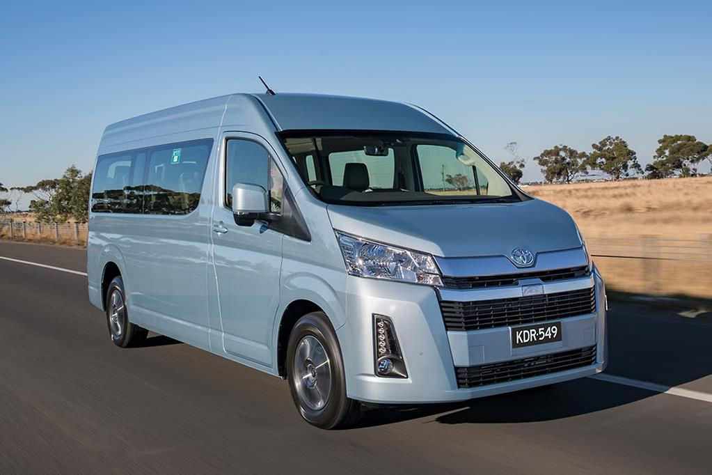 All-new Toyota HiAce touches down - www carsales com au