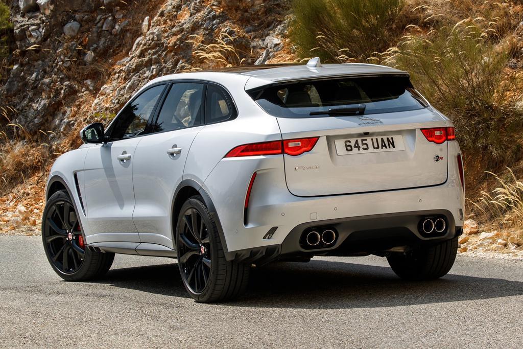 New Jaguar F Pace Svr Super Suv Will Be Limited Carsales Com Au