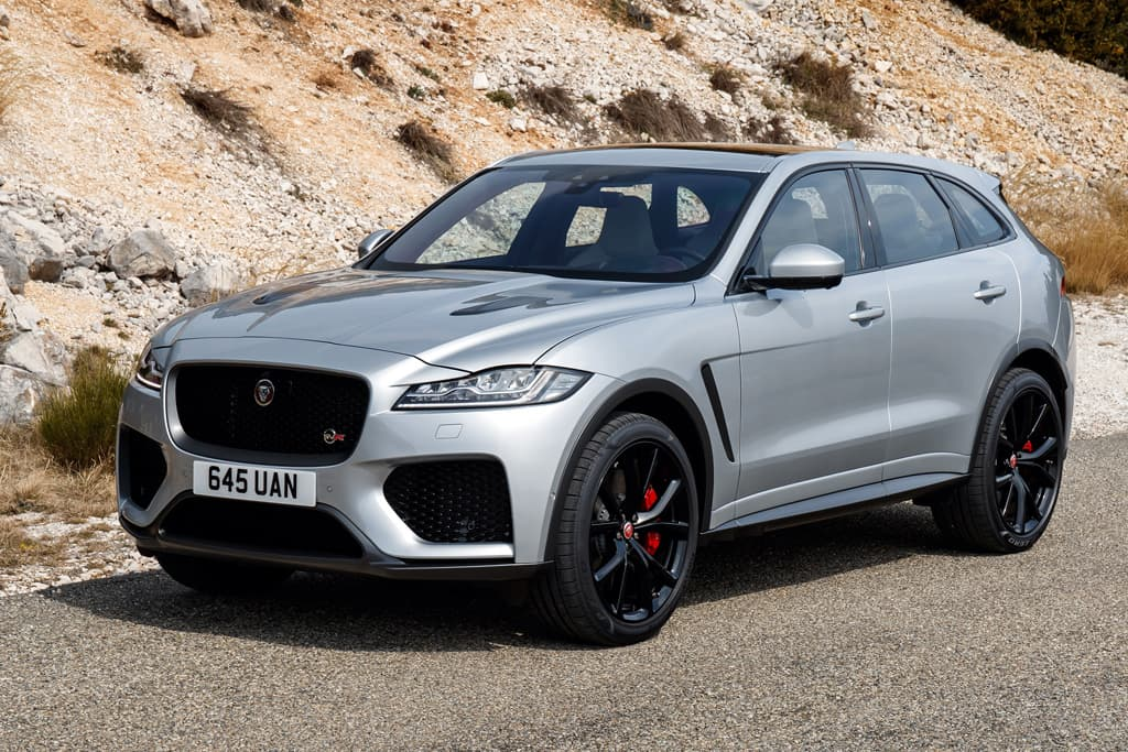 Jaguar Suv F Pace >> New Jaguar F Pace Svr Super Suv Will Be Limited Www