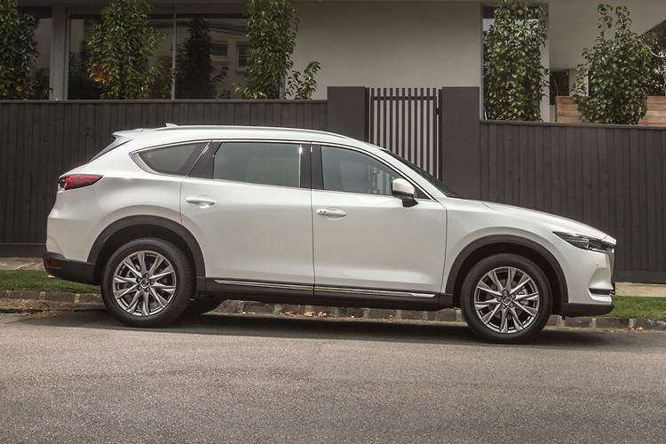 ... Which Makes It 200kg Heavier Than The CX 5, But It Handles More Like  The CX 5 Than The CX 9 Yet Offers The Same 2000kg Towing Capacity.