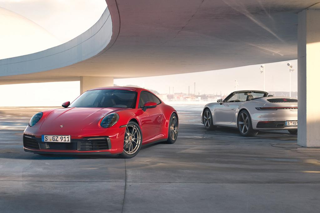 New Porsche 911 Carrera 4 Coupe And Cabriolet Priced Www Carsales Com Au