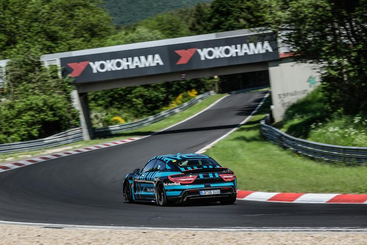 Porsche Taycan sets new EV Nürburgring record , www.carsales
