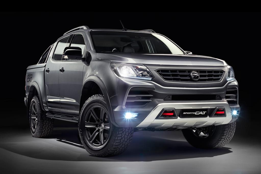 Holden Colorado SportsCat by HSV 2018 Review - www carsales