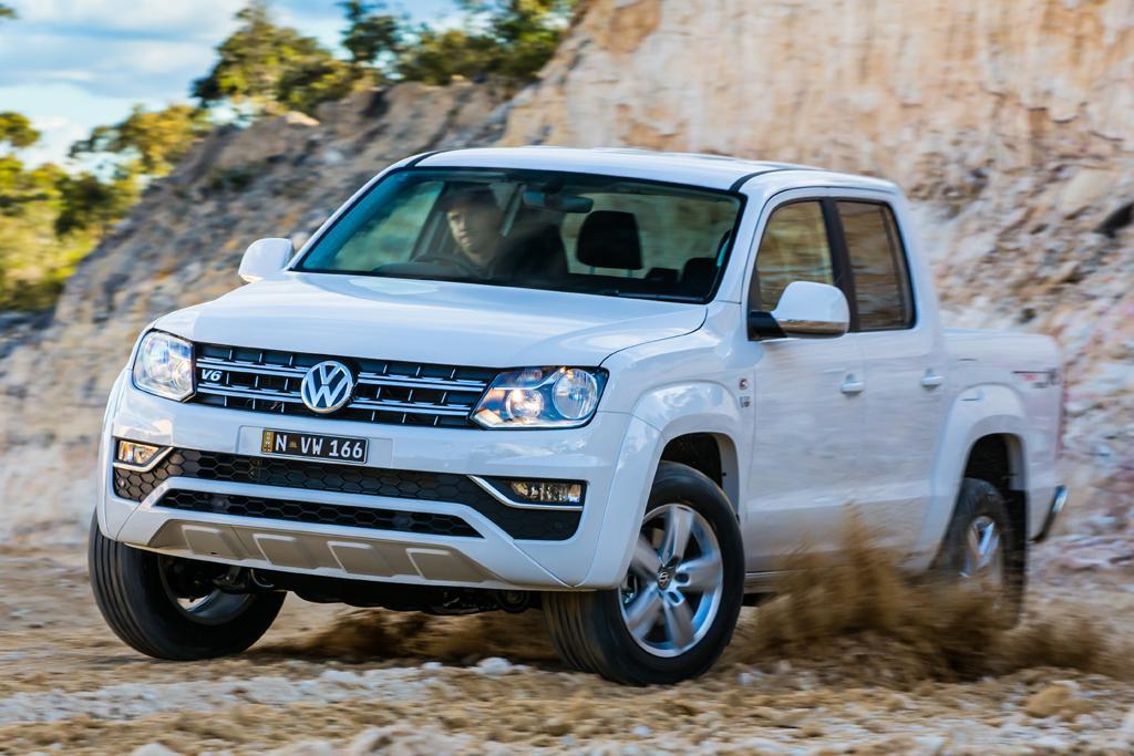 Cut-price Volkswagen Amarok V6 manual due July - www