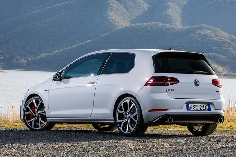 2017 Model Golf Gti Performance Edition Pictured