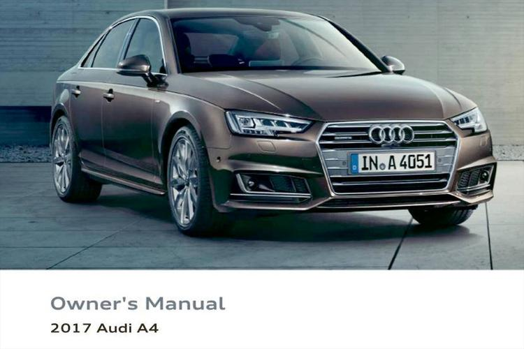 Audi A6 A4 Owners Manual - Professional User Manual EBooks