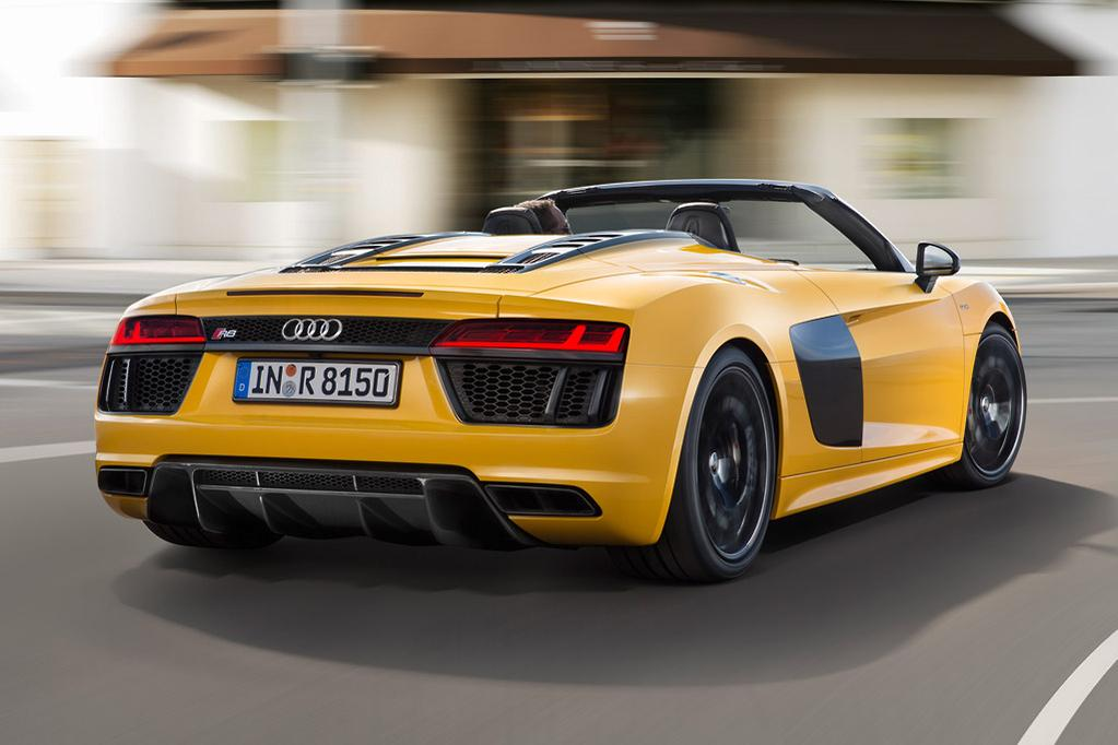 If It S Sheer Sd You Want The R8 Spyder Won T Let Down At 3 6 Seconds Just A Tenth Of Second Shy Coupe To 100km H