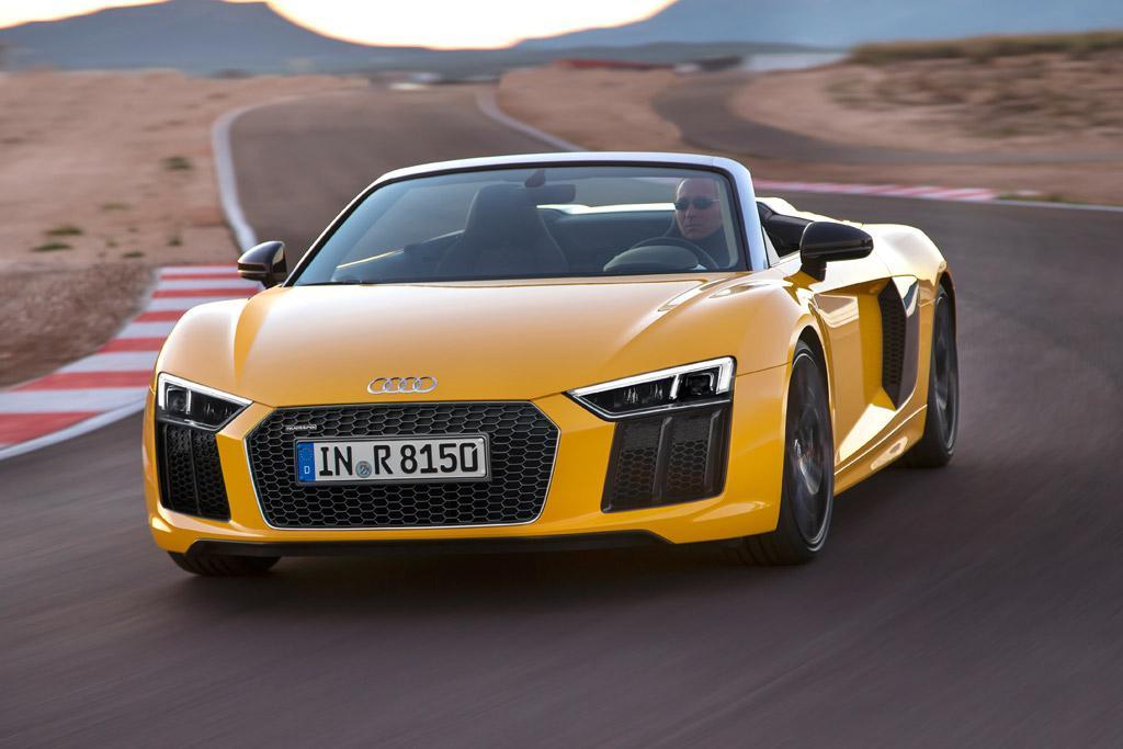 Audi R8 Spyder 2016 Review
