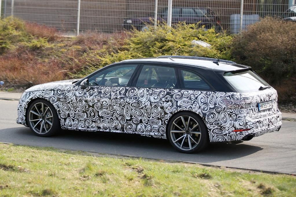 Spy Pics New Audi Rs 4 Likely To Get Porsche V6 Wwwcarsalescomau