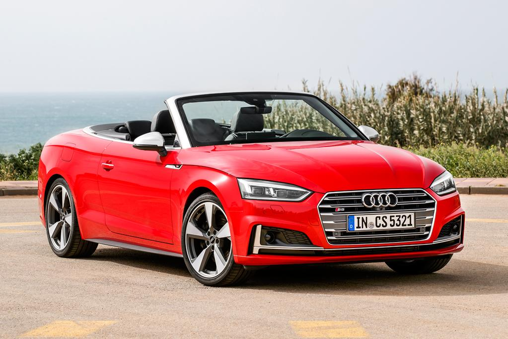 But The S5 Cabrio Doesn T Seem To Suffer Below Decks In Any Disturbing Ways Even When Windscreen Frame Shudders Ever