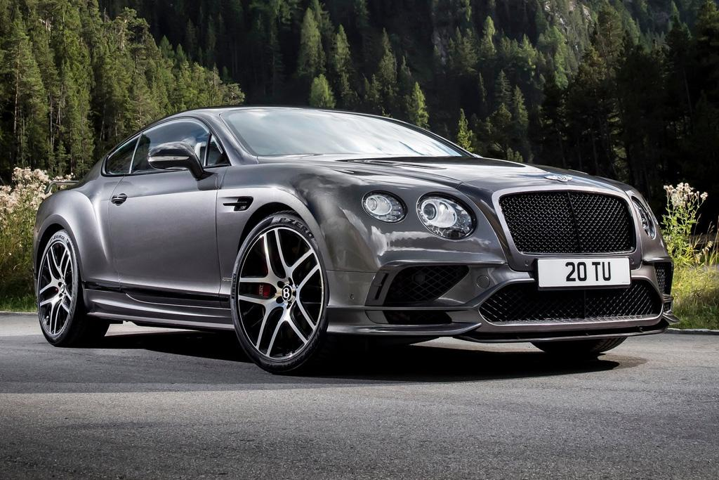 Bentley Continental Supersports Blasts Into 2017
