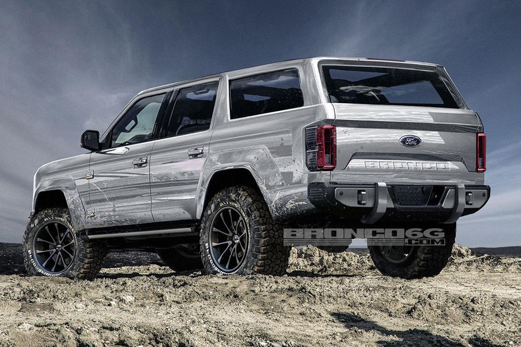 Ford S 2020 Bronco Taking Shape Www Carsales Com Au