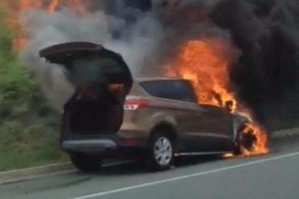 Ford Australia Has Contacted The Owner Requesting Vin Vehicle Identification Number And Registration Details For The Burnt Out Kuga