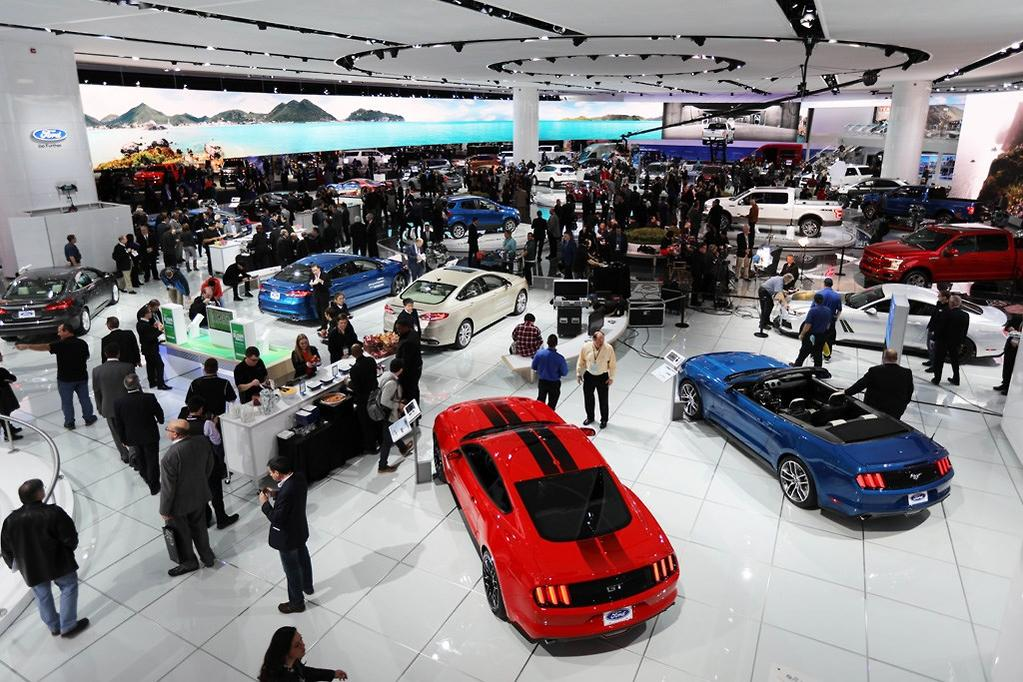 DETROIT MOTOR SHOW Top Five Reveals Wwwcarsalescomau - Auto show car sales
