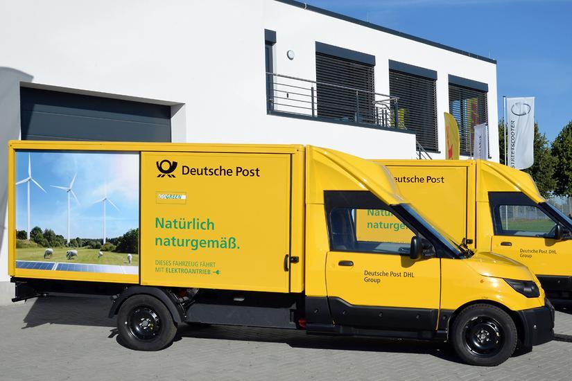 Deutsche Post electric truck boom - www carsales com au
