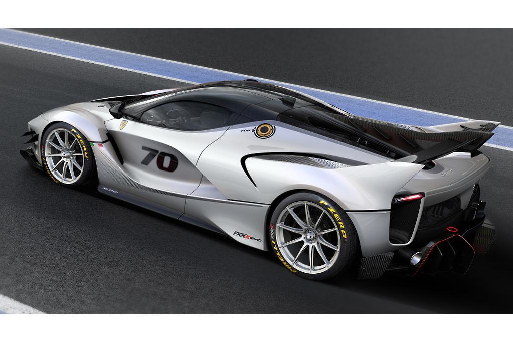Ferrari facelifts track-only FXX K - www carsales com au
