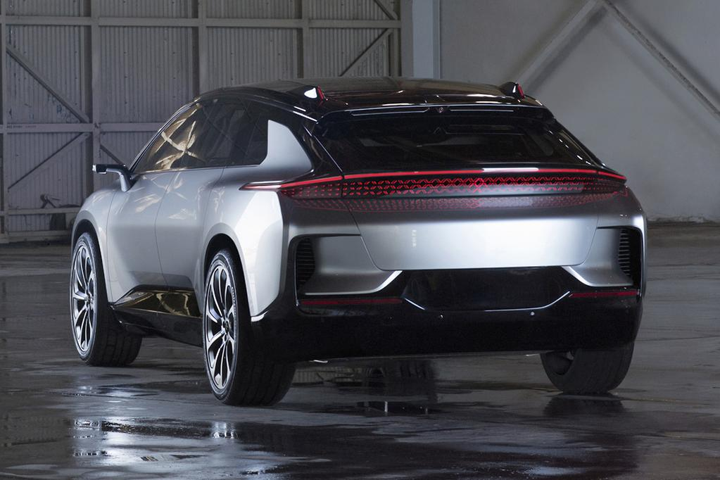 Revealed At The Consumer Electronics Show Ces World S Largest Technology Faraday Future Almost Production Ready Ev Is One Of Highlights