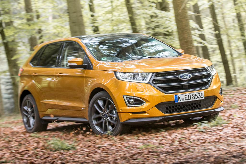 In Europe The Edge Sits Above The Kuga As Fords Flagship Suv And Although Its Bigger Dimensions Dont Offer A Greater Number Of Seats It Does Give Its