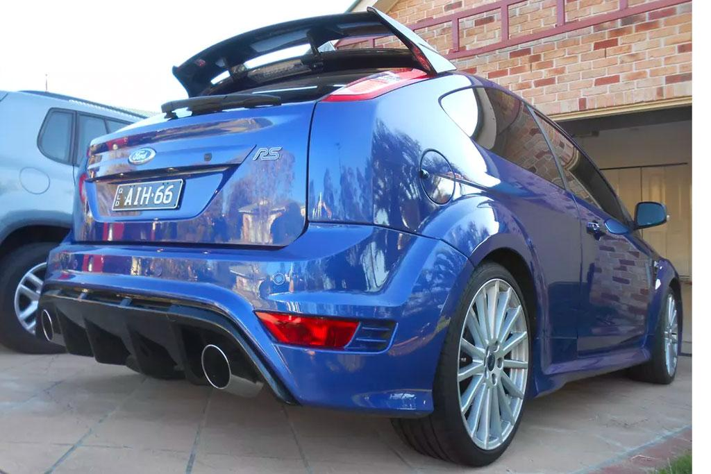 From The Classifieds: 2010 Ford Focus RS - www carsales com au