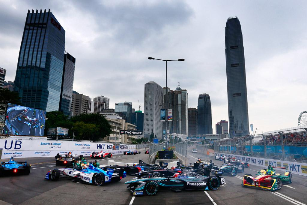 Flying Sparks Formula E Opener In Hong Kong Www Carsales Com Au
