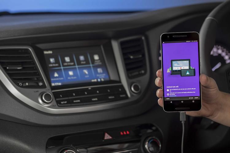 Hyundai tucson android auto australia