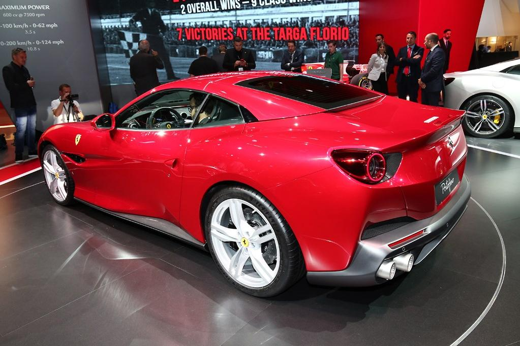 Ferrari Portofino Produces 441kw 760nm And Hits 100km H In 3 5 Seconds 200km 10 8 On Its Way To A 320km