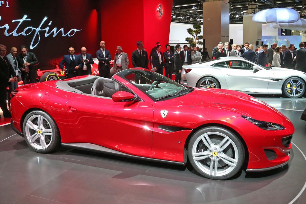 Frankfurt Motor Show Ferrari Suv And Dino Firm