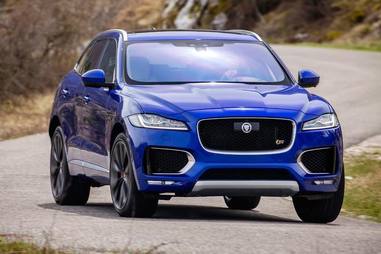 Jaguar f pace 2016
