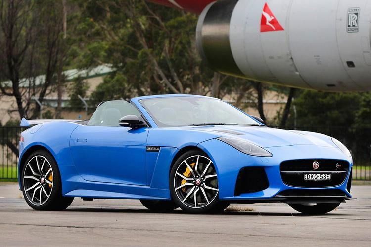 ... F TYPE SVR Should Theoretically Be Able To Do What The 747 Cannot:  Reach Optimum Take Off Speed In A Distance Well Short Of The Prescribed 4km  Stretch.