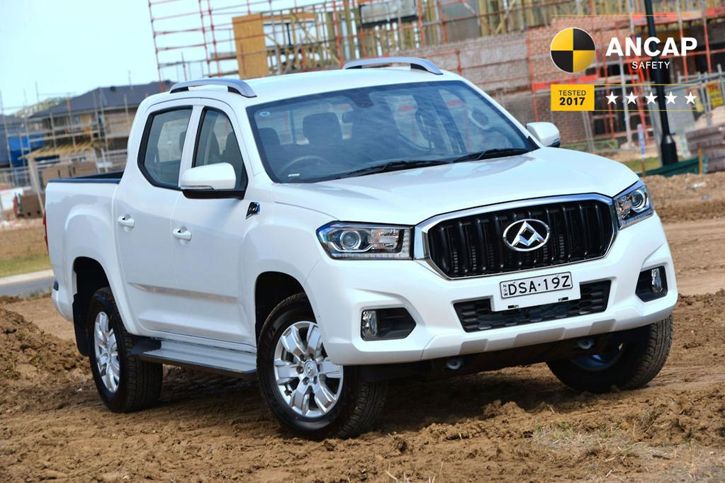 be3811111b LDV Automotive Australia general manager Dinesh Chinnappa said he was not  surprised by the top safety rating for the T60 dual-cab