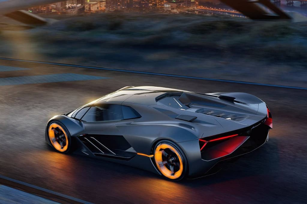 Lamborghini Will Only Say The All Electric Concept Car Is A Possible Future But Insists It Addresses Visceral Emotions Found In Today S