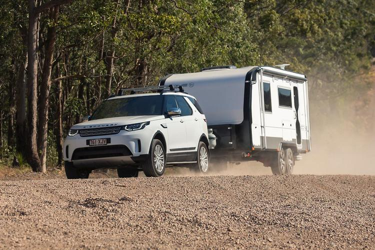 land rover discovery 2017 tow test www carsales com auland rover discovery 2017 tow test