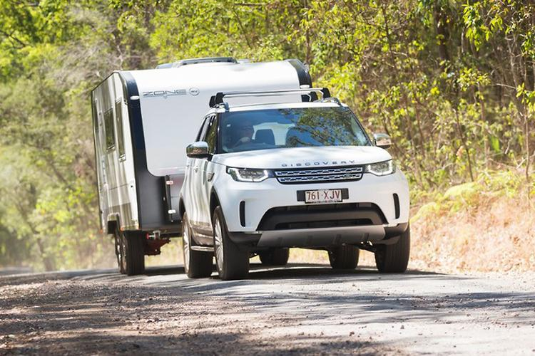 land rover discovery 2017 tow test www carsales com auVehicle To Trailer Wiring Australian Land Rover Owners #2